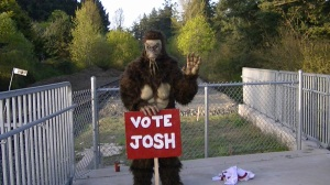 Support is coming from out of the woods for Josh Steffler